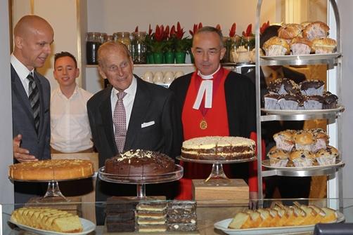 The Cellarium Cafe & Terrace- HRH Prince Philip
