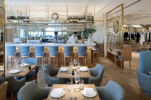 The Corner Restaurant and Champagne Bar- Selfridges- London