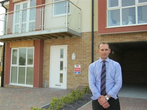 Nigel Pritchard, of Watkin Jones Homes - The Bay- Bangor Coast, NHBC Awards 2013