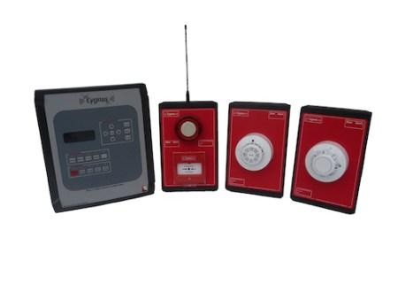 Innovative alarms, The Cygnus wireless fire alarm system