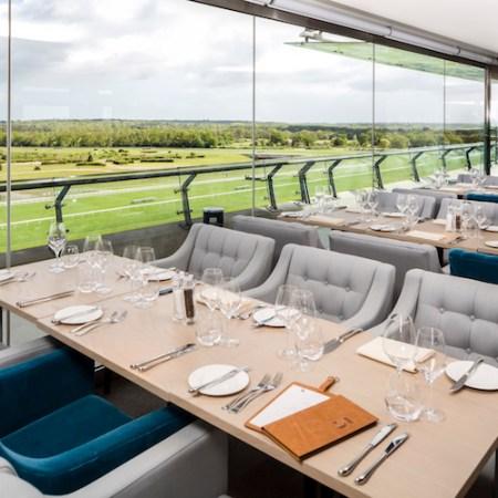 Tom Kerridge On 5 restaurant, Ascot Racecourse, Berkshire