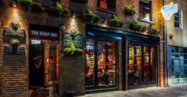 Harp Bar - Fresh Interiors, Belfast, Northern Ireland