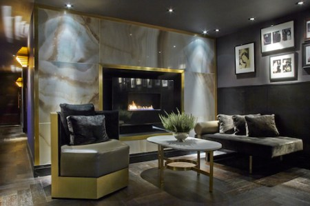 Reception Fireplace,  Quaglino's, London, Mayfair