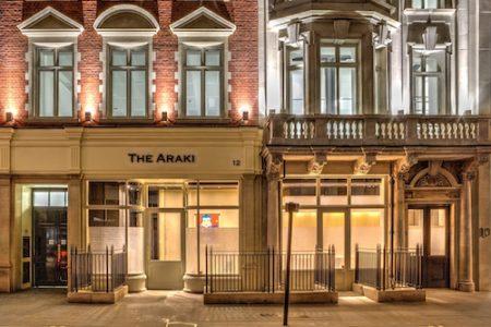 The Araki, 12 New Burlington Street, London