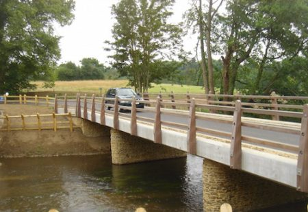 Sarum Hardwood – Highway parapets