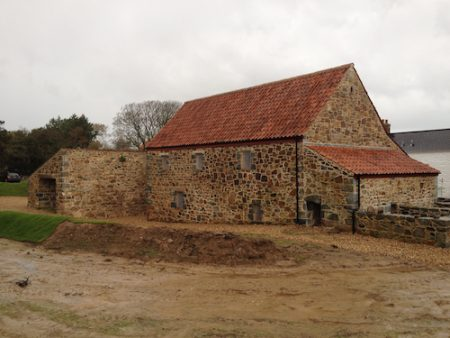 Les Caches Cider Barn - After