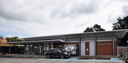 Hassocks Station , a Carpark side