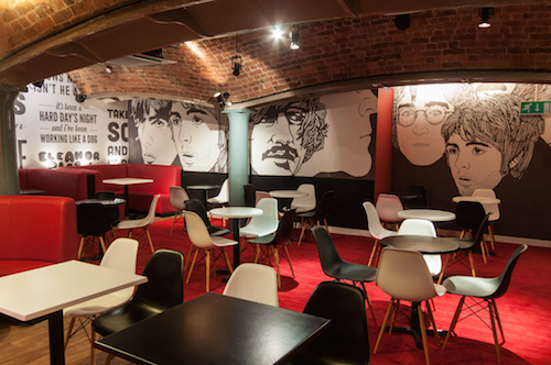 New Fab4 cafes are a hit