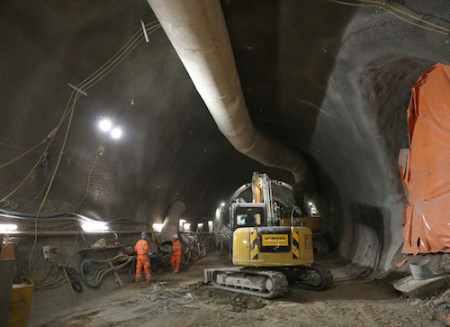 James O Jenkins, Farringdon, Crossrail