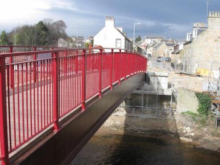 Elgin Flood Alleviation Scheme, Moray