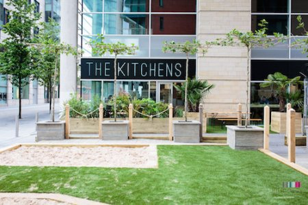 The Kitchens,  Irwell Square, Manchester, Spinningfield