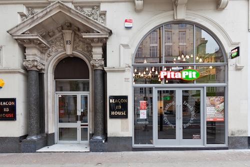 Pita Pit, Holborn, London