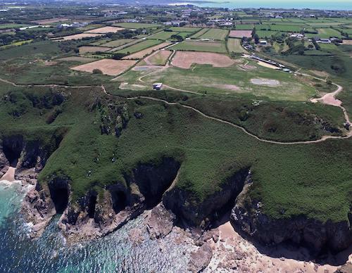 Jersey's Plémont headland