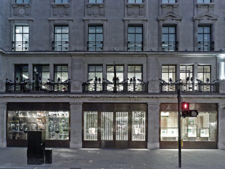 Watches of Switzerland opened its Regent Street