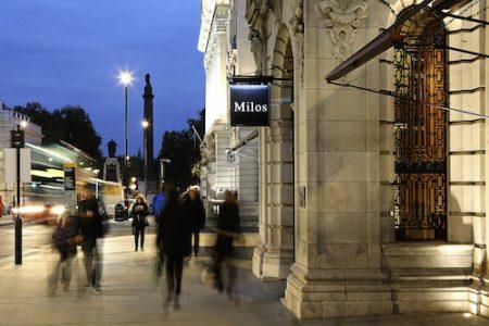 Milos, London