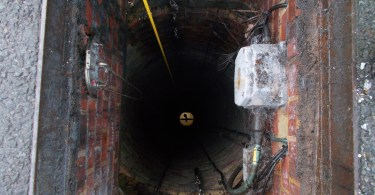 Deepest Ever Sewer Ventilation Shaft Surveyed With High-Tech Panoramo SI Camera