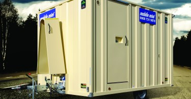 Mobile Mini launches cost and energy efficient mobile welfare units to construction industry