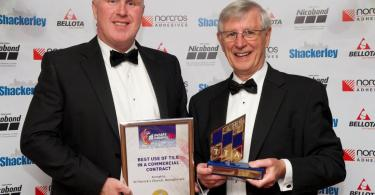 Armatile wins a UK Tile Industry Award its work on the stunning transformation of St Patrick's Church Donaghmore.