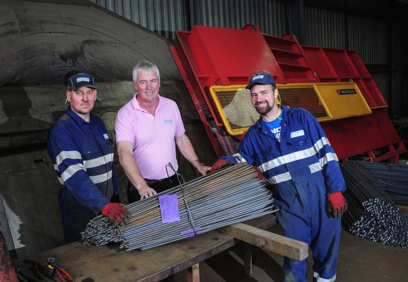 New Machinery Strengthens Steel Reinforcement Company