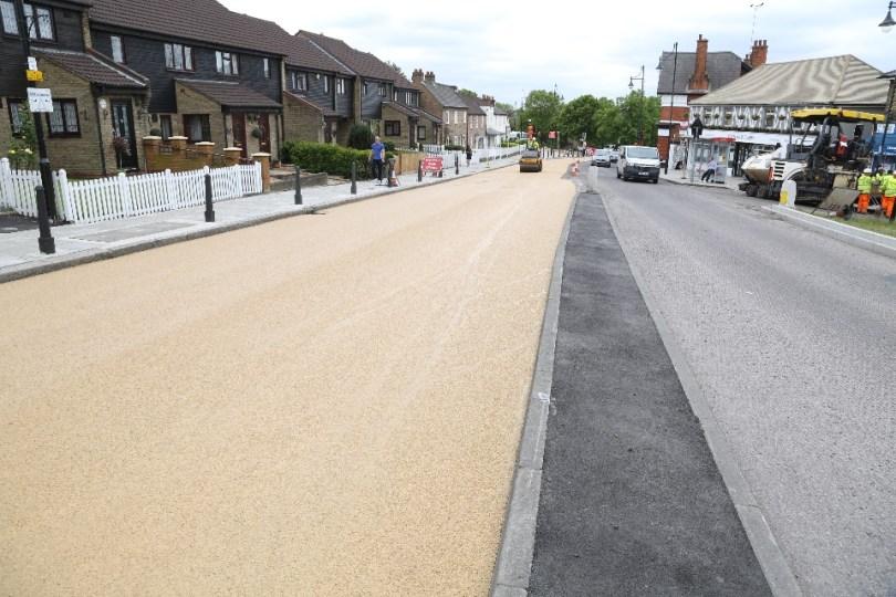 Bituchem's Heavy Duty Material Used To Brighten Road In Redbridge