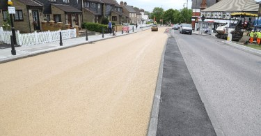 Bituchem's Heavy Duty Material Used To Brighten Road In Redbridge