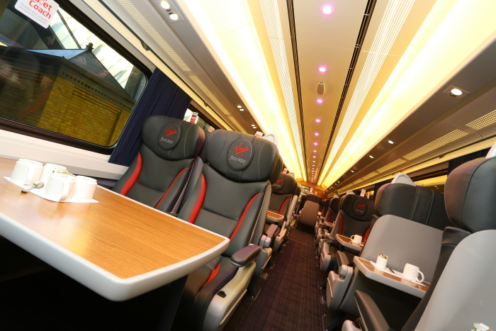 Virgin Trains Fleet Refurbishment Programme Milestone Achieved