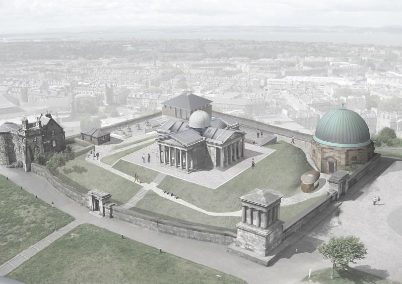 prestigious £3m Calton Hill observatory project in Edinburgh