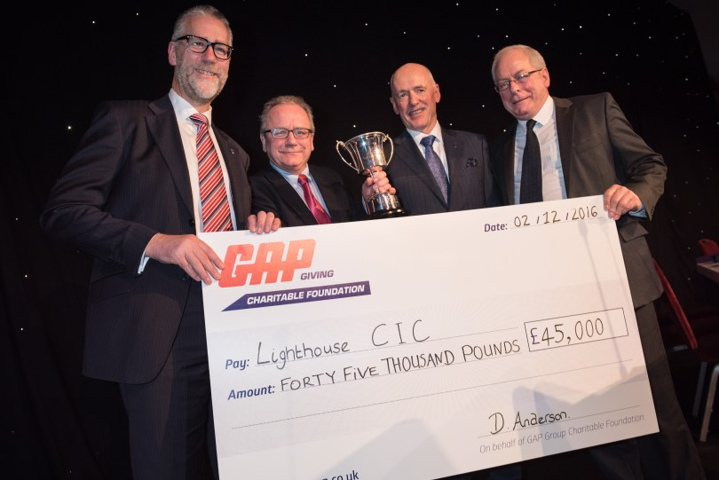 GAP Hire Solutions Charity Foundation Donates £80,000