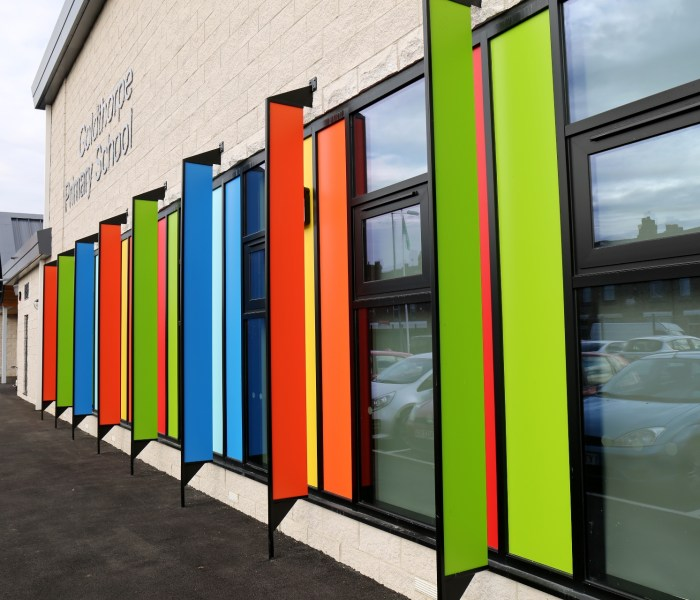 Panel Systems Reports Increased Demand For Colourful Trespa®