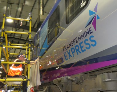 TransPennine Express' Trains Receive A Metallic Makeover