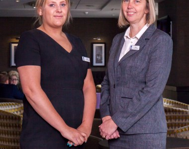 Two Recruits Join Newly Promoted Conference Manager at Best Western Cresta Court