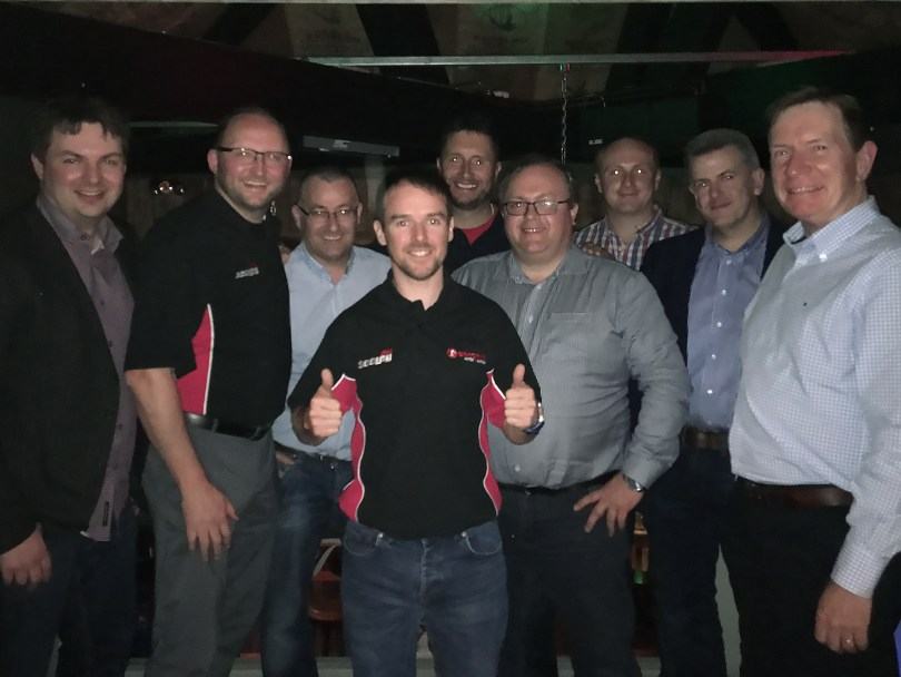 Giacomini Customers Win Alastair Seeley Prizes