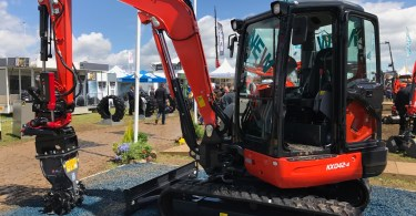 Kubota Gets Eco-Friendly At Plantworx With The New KX042-4