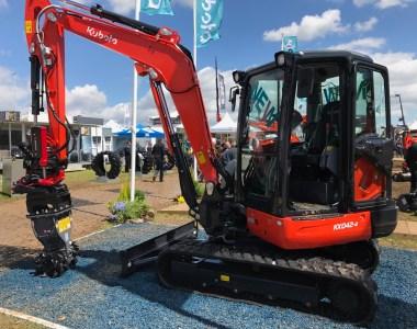 Kubota Gets Eco-Friendly At Plantworx With The New KX042-4
