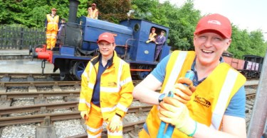 """Virgin Trains' """"Steam Team"""" Lays New Foundations At World's First Commercial Railway"""