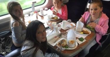 Virgin Trains Helps Bring 9-year-old Amelie's Menu To Life