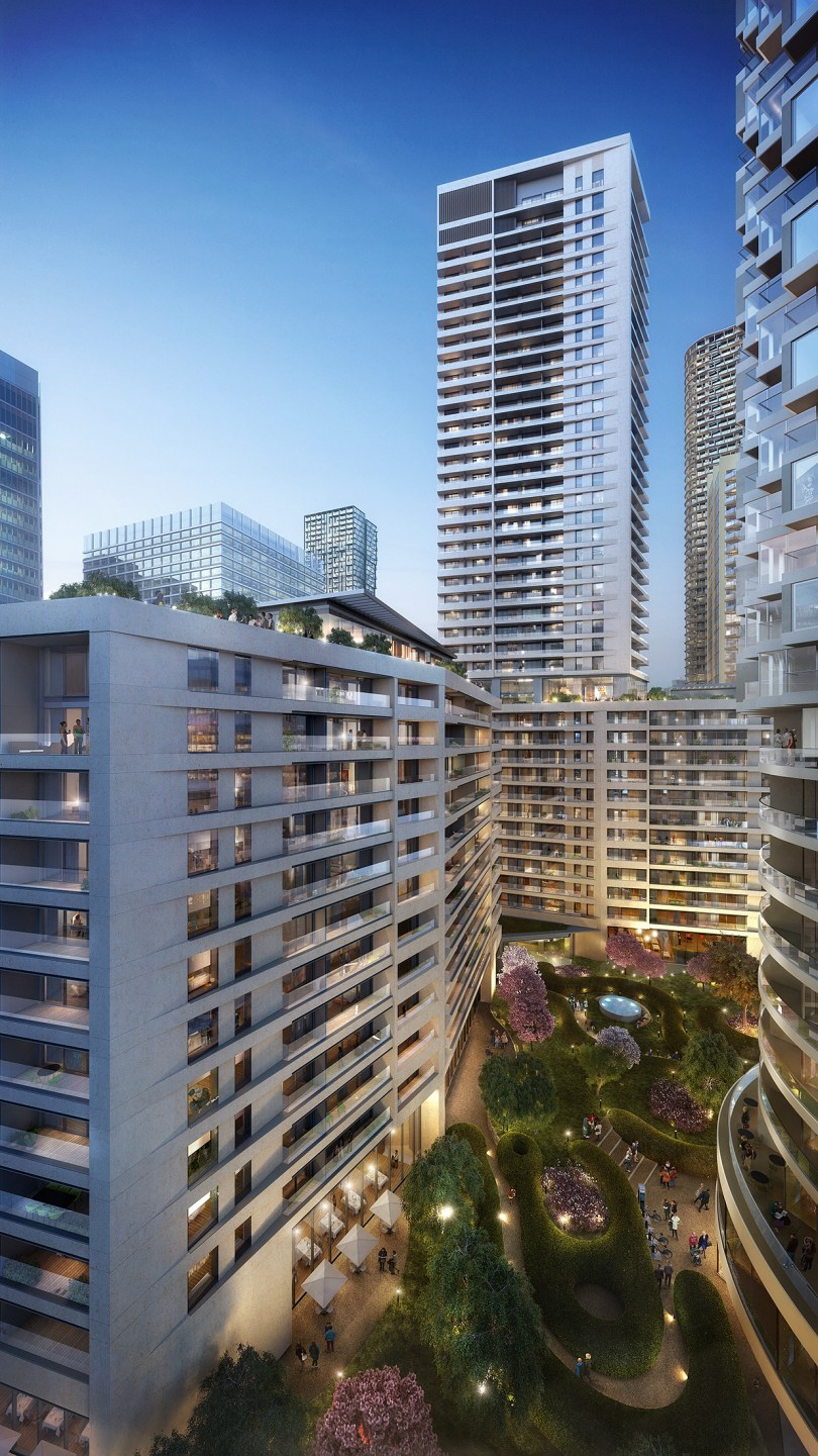 SES appointed to install over 500 prefabricated service cupboards on landmark Canary Wharf residential projects