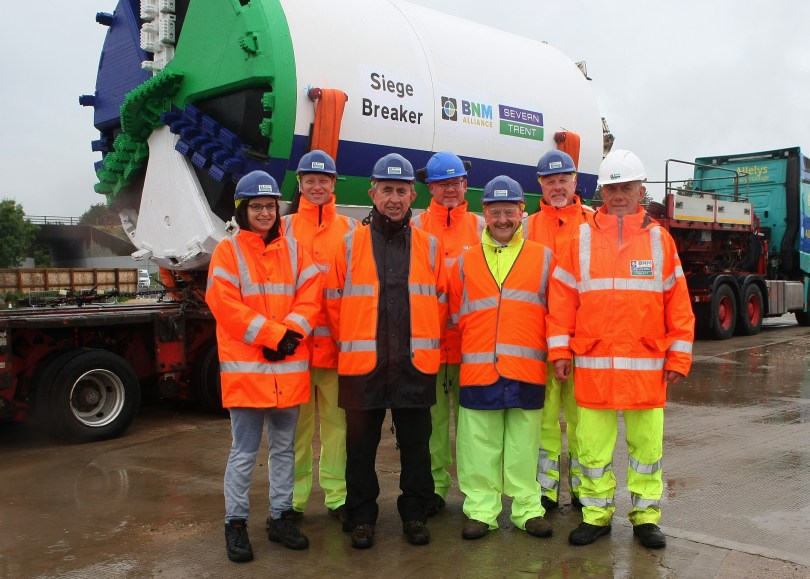 BNM Alliance's 'Siege Breaker' Embarks On Severn Trent Flood Defence Mission