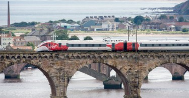 Virgin Azuma Debuts In Scotland On East Coast Test Run
