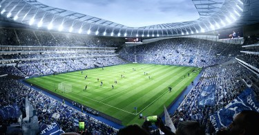 SCX to Supply World-First Dividing Retractable Pitch for Tottenham Hotspur's New Stadium