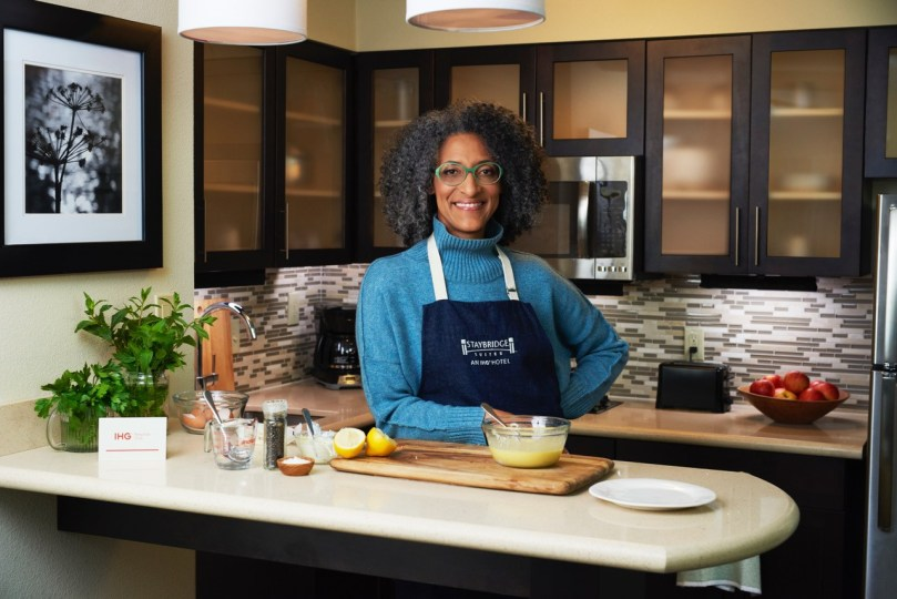 Staybridge Suites® Partners With Celebrity Chef Carla Hall