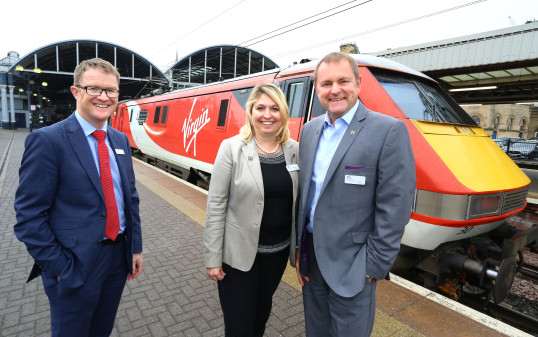 Virgin Trains' Partnership with Great Exhibition of the North Unveiled