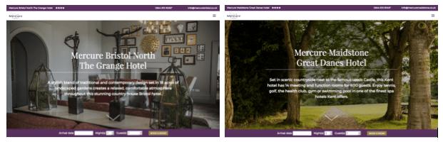 Jupiter Hotels Launches New Websites For 27-Strong Mercure Hotel Portfolio