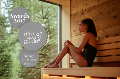 Aqua Sana Sherwood Forest Wins Best For Design At The Good Spa Guide 2017 Awards