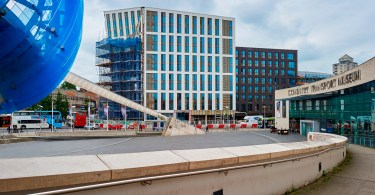 WES+ Protects Millennium View At Coventry University
