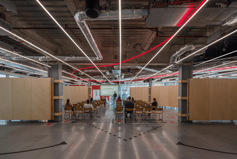 Gensler Sets Up Award-Winning 'Basecamp' At Thomas More Square In Wapping, London
