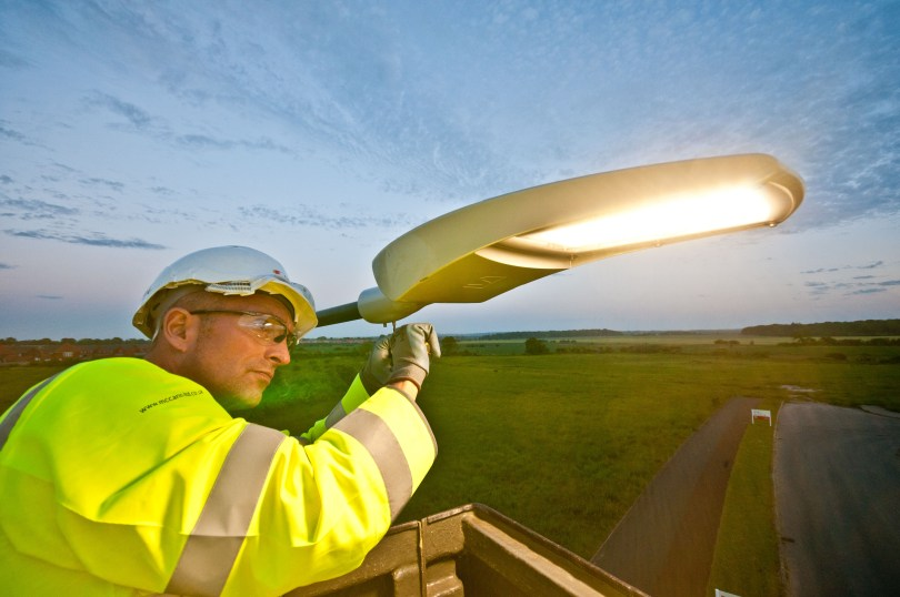 McCann Lighting the Way in North Lincolnshire