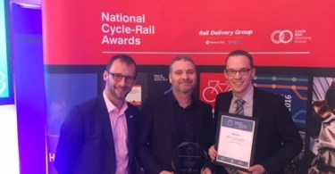 TransPennine Express Scoops Transport Integration Award At The Cycle Rail Awards 2017