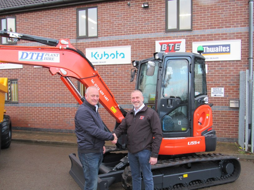 New Plant Hire Firm Going From Strength to Strength With Kubota