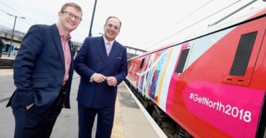 Virgin Trains Encourages More People to 'Get North' With Great Exhibition of the North Branding